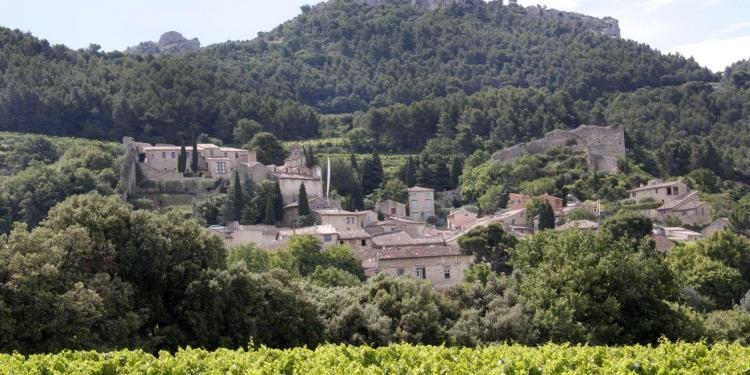 Gigondas Village #Vaucluse #CoteduRhone @PerfProvence