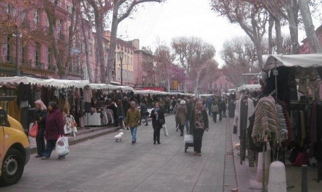 Cours Mirabeau #AixenProvence #Markets @aixcentric