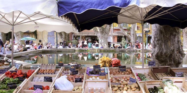 Cucuron Market Luberon Markets Provence