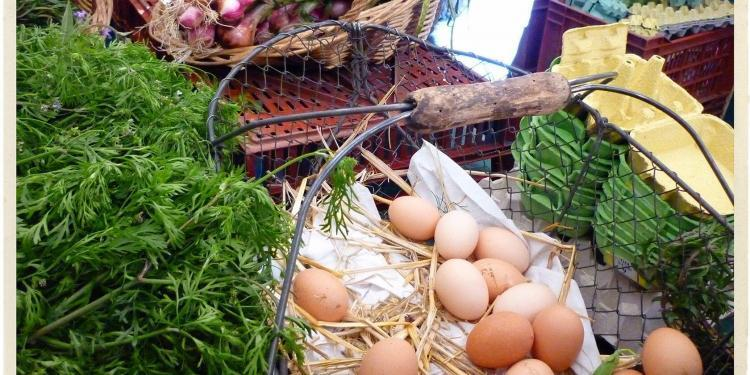 Eggs Provence Market Produce @TableEnProvence