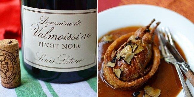 Louis Latour Pinot Noir #WinePairing @Susan_PWZ