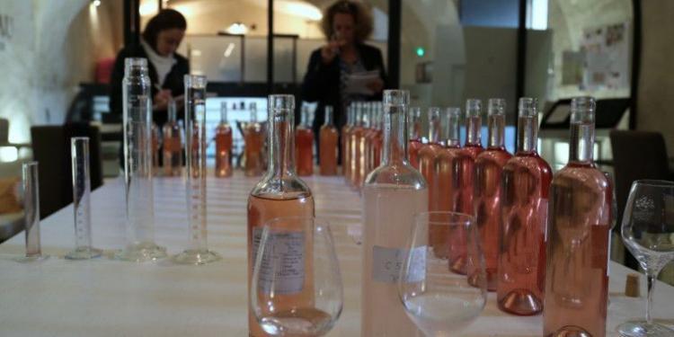 @MirabeauWine Wine blending 2015
