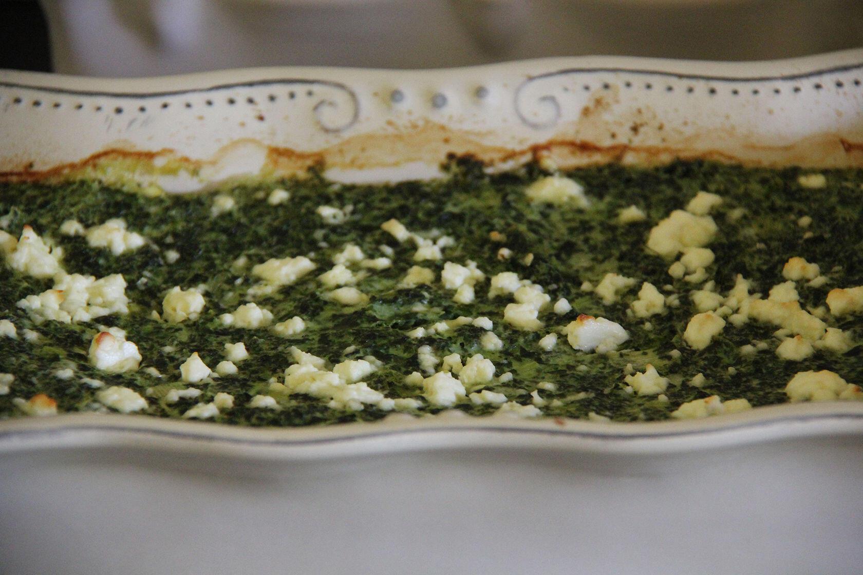 Spinach Cake Recipe @GingerandNutmeg