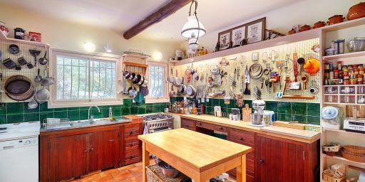 Julia Childs Kitchen La Pitchoune @Sothebys