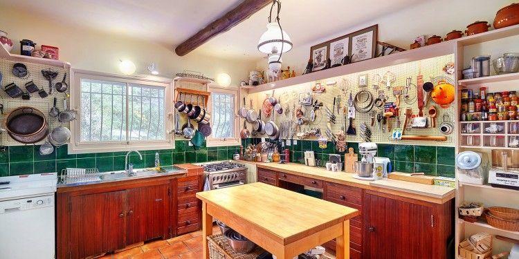 Julia Childs Kitchen La Pitchoune @Sothebys