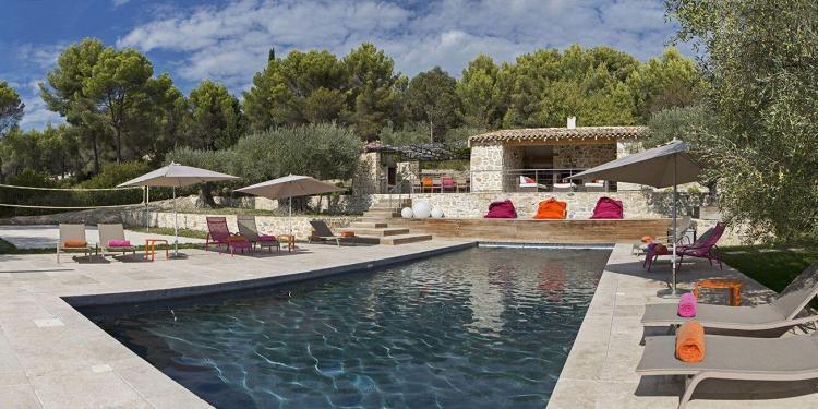 Pool Mas des Avelines @OlivesVines