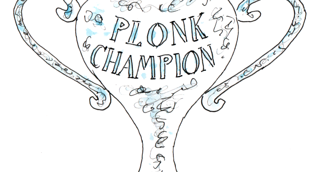 Plonk Winner #Wine Competition @Susan_PWZ