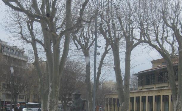 Cézanne's Statue Aix en Provence @Aixcentric
