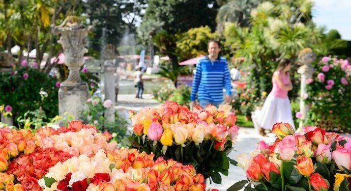 Villa Ephrussi de Rothschild Fete de Roses @Culturespaces
