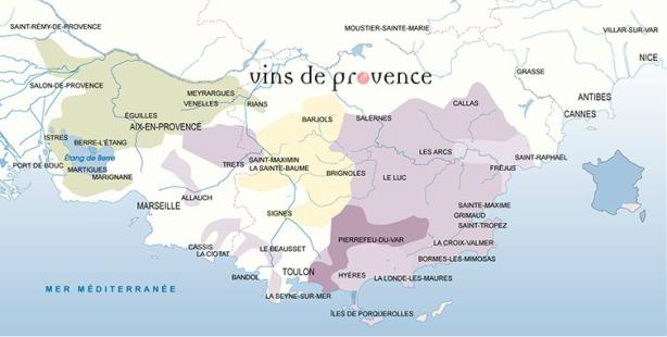 Cote de Provence #WinesofProvence @LizGabayMW