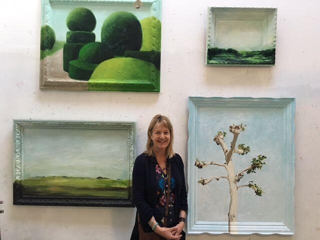 Jill Douglas artist painter