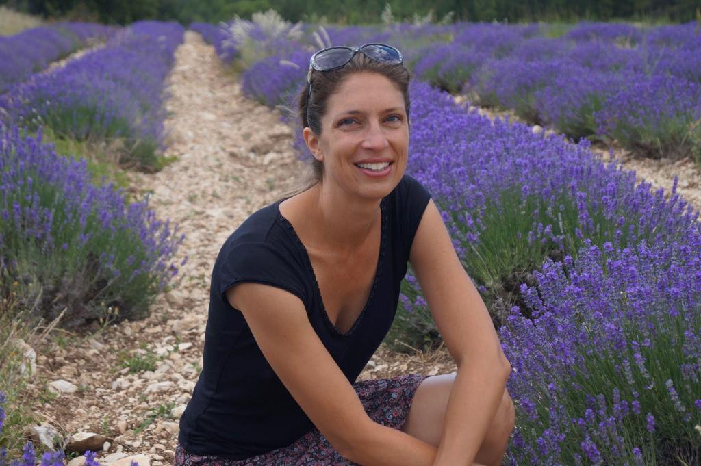 Emily Durand lavender close-up