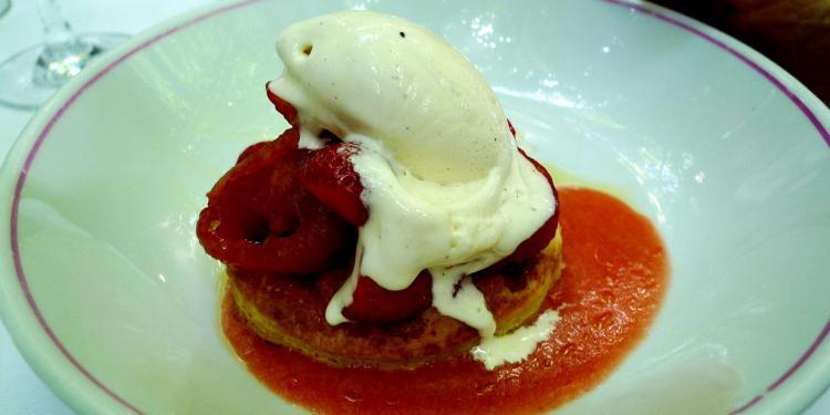 Strawberry Tart Tarte aux Tomates et Fraises @LaPetiteMaison #Cucuron @PerfProvence