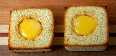 Toasted boxes with egg @CocoaandLavender