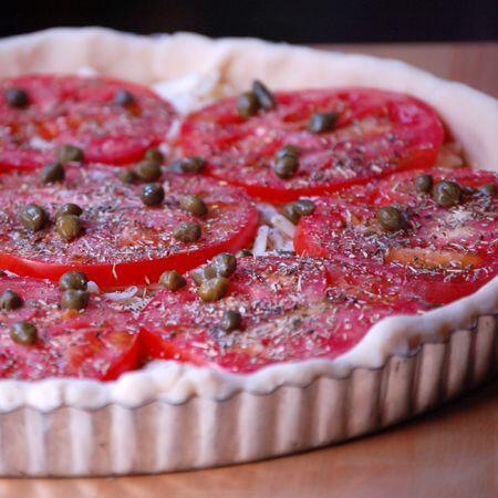 tarte aux tomates #TastesofProvence @CocoaandLavender
