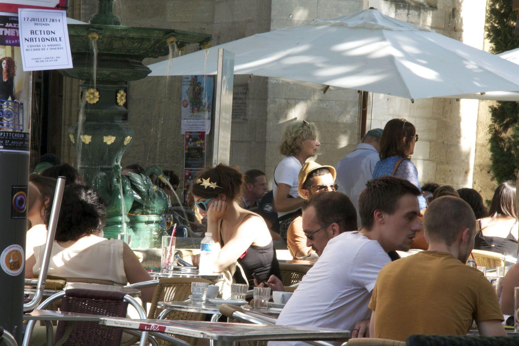Avignon cafe Provence