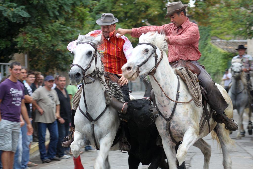 Fete du village Cowboys #Provence #ExploreProvence @PerfProvence
