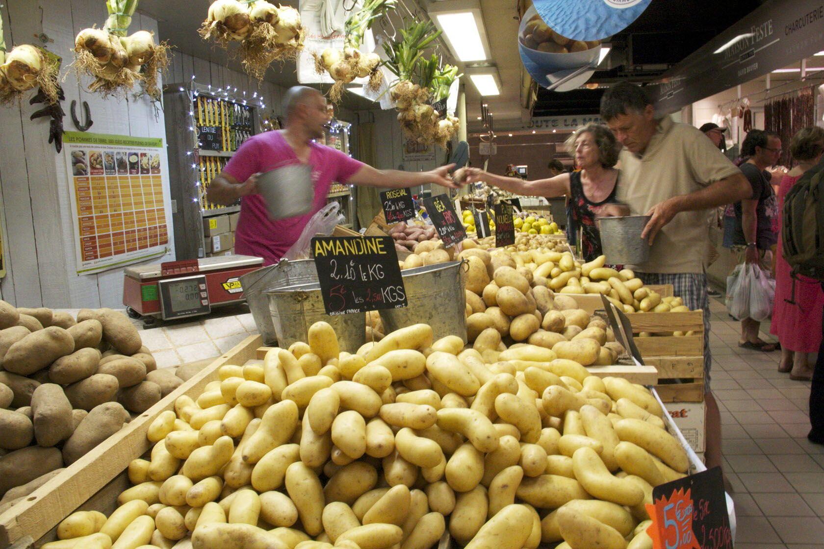 Avignon les Halles Market