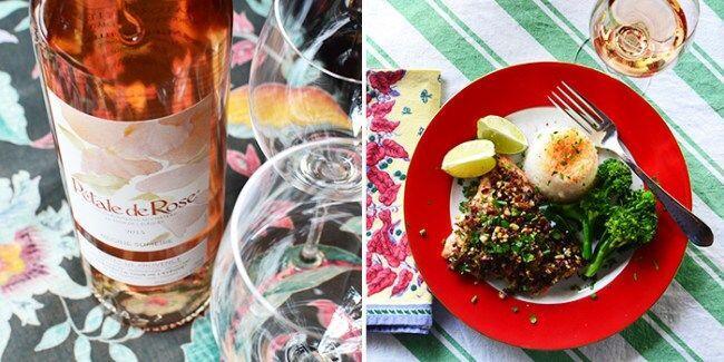 Petale de Rose #WinesofProvence #WinePairing @Susan_PWZ
