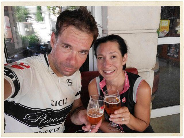 Beers after Cycling in Provence #ExploreProvence @TableenProvence
