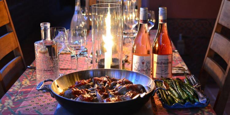 Quail cailles aux riz Recipes Tastes Provence