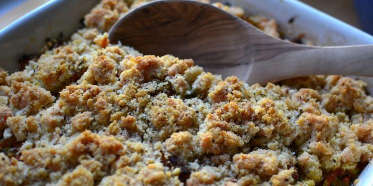 Chicken Casserole crumble au poulet #TastesofProvence @CocoaandLavender