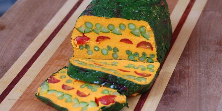 curried vegetable terrine @CocoaandLavender