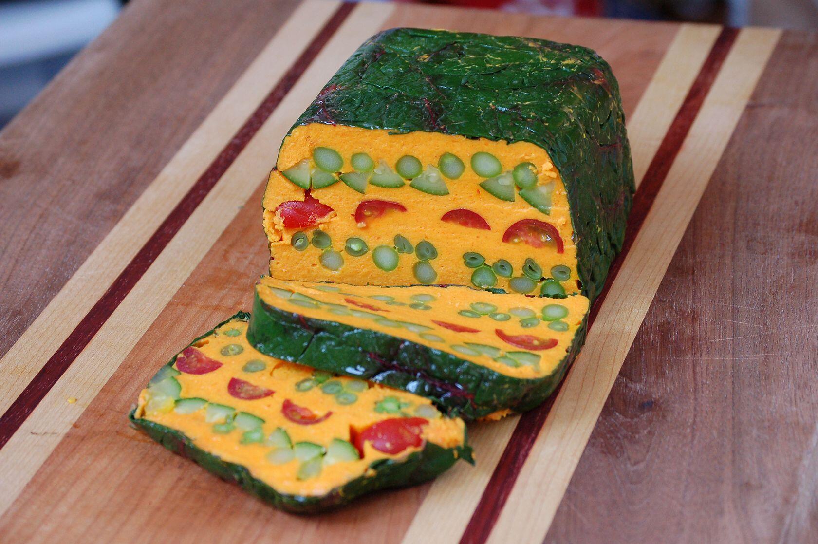 curried Vegetable Terrine @CocoaandLavender