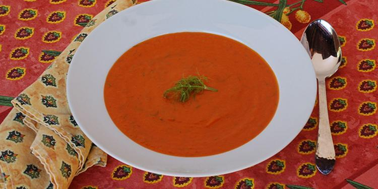 Fennel Tomato Soup Pastis @CocoaandLavender