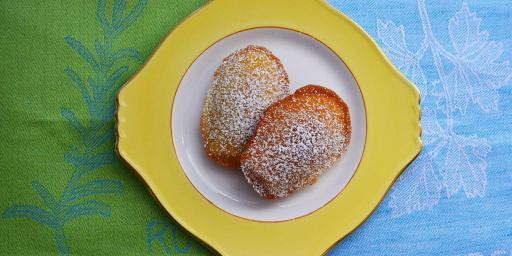 Lemon Madeleines Tastes Provence