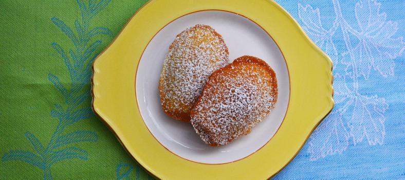 lemon madeleines #TastesofProvence @CocoaandLavender