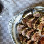 Pork Tenderloin provencal porc roti #TastesofProvence @CocoaandLavender