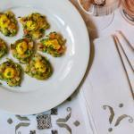 shrimp and zucchini fritters @CocoaandLavender