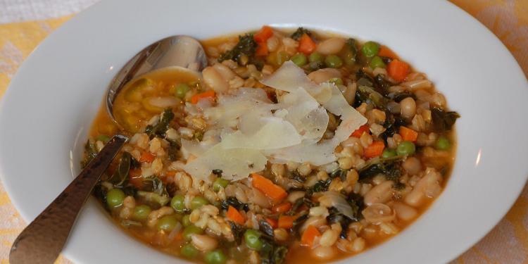 Grain Soup Soupe d'epeautre #TastesofProvence @CocoaandLavender