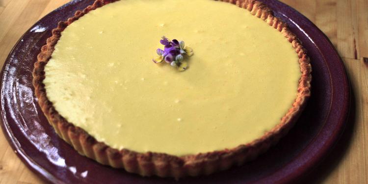 tarte au citron #TastesofProvence @CocoaandLavender