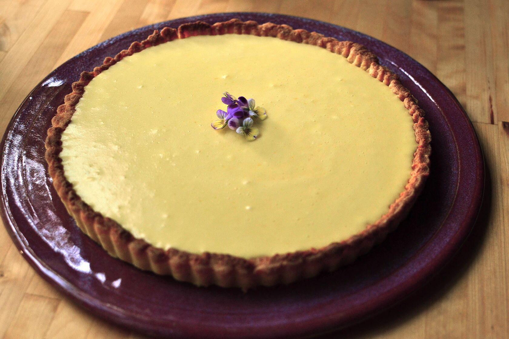 Lemon Tart tarte au citron Tastes of Provence