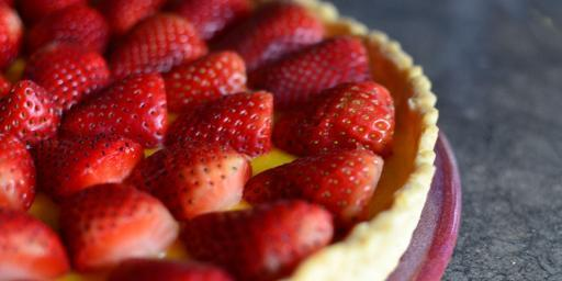 tarte aux fraises #TastesofProvence @CocoaandLavender