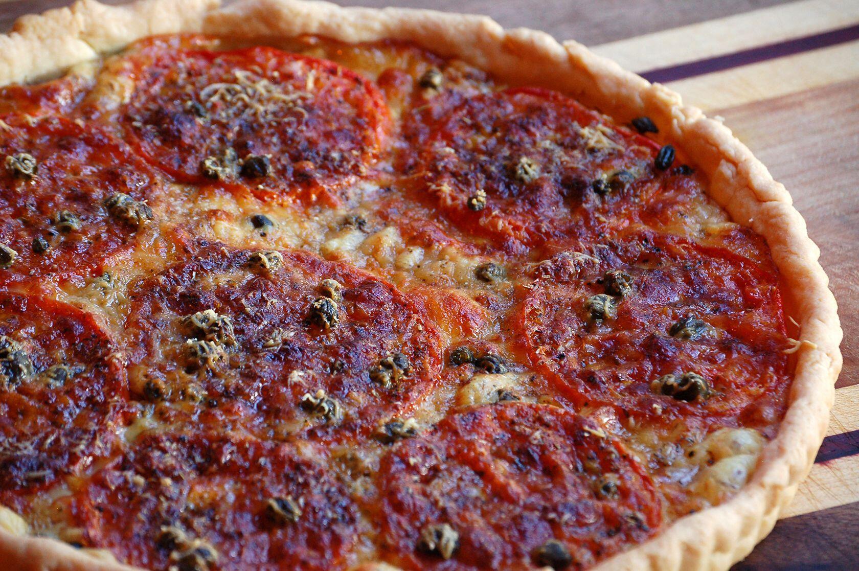tarte aux tomates Tastes Provence