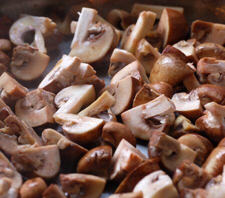 mushrooms cooked @Cocoaandlavender