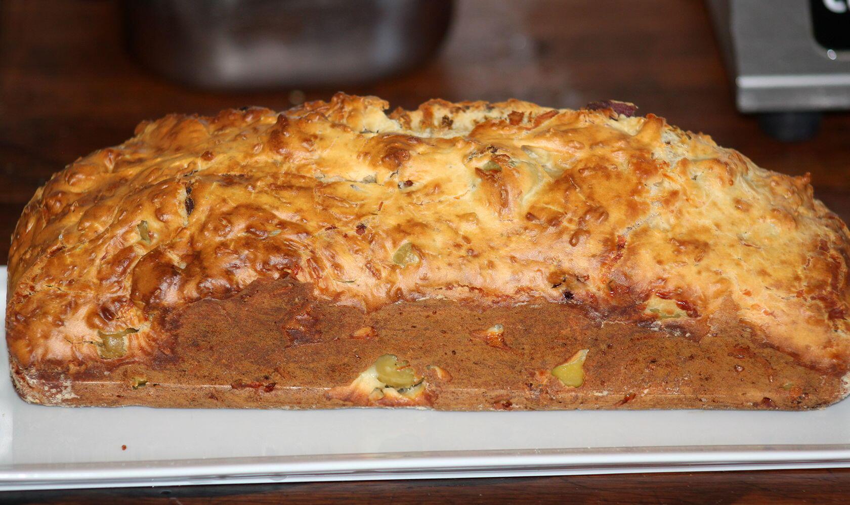 Green Olive Cake Cake aux Olives Vertes @GingerandNutmeg