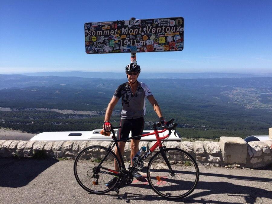 Mont Ventoux summit @ProvenceTayls