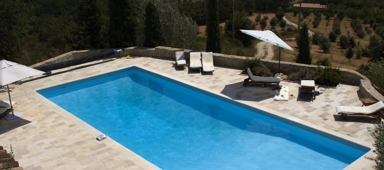 Luberon Luxury Provence Accommodation Les Vallons pool