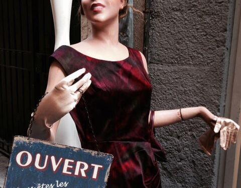 caprice vintage shopping #Nice06 @bestofniceblog