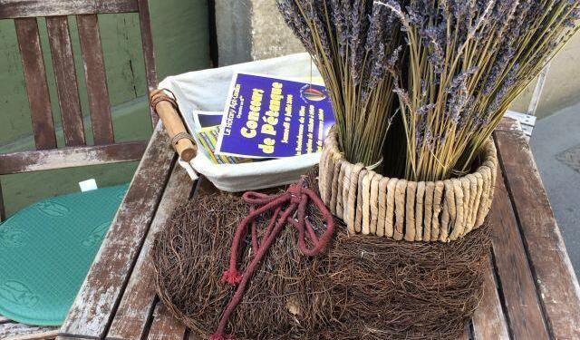 Lavender displays #Lavender #ExploreProvence @VaucluseDreamer
