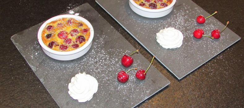 Cherry and Almond Clafoutis @masdaugustine