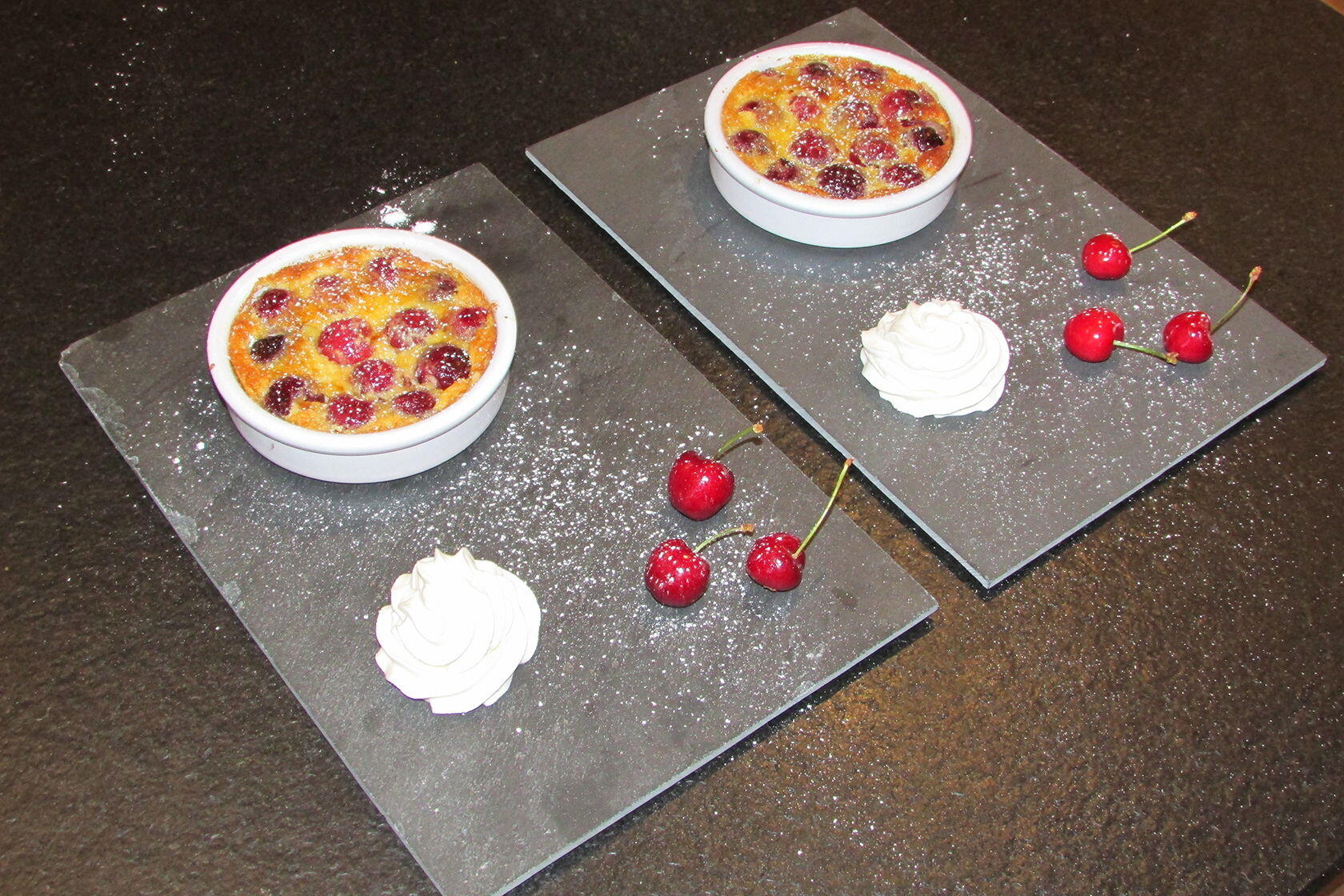 Cherry and Almond Clafoutis @masdaugustine