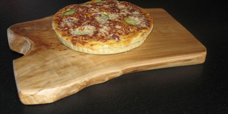 Courgette and Parma Ham Tart #Recipe @MasdAugustine