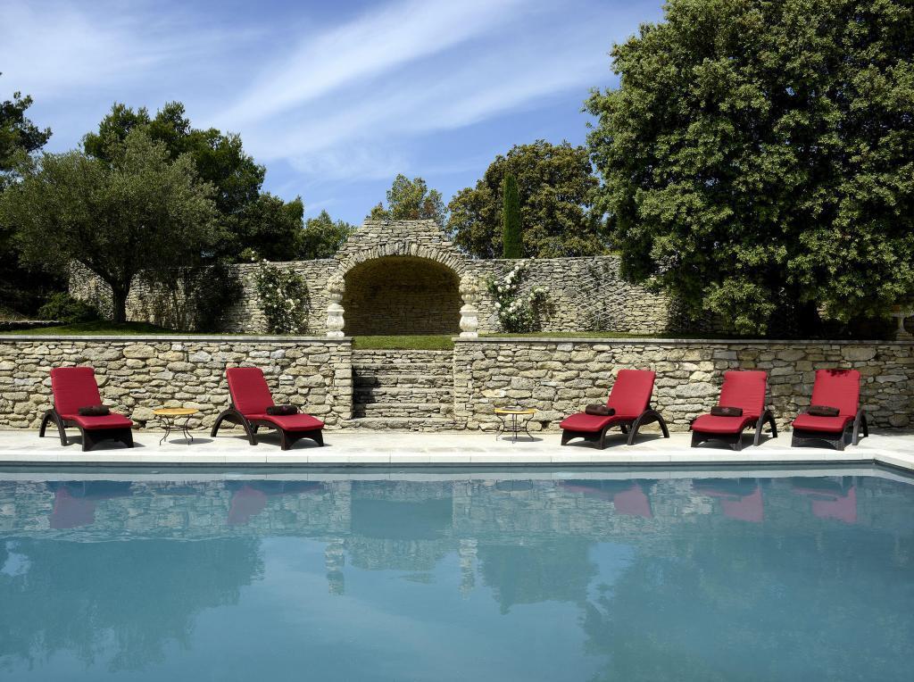 Pool #Gordes Hotel Petit Palais d'Aglae @petitpalaisdaglae