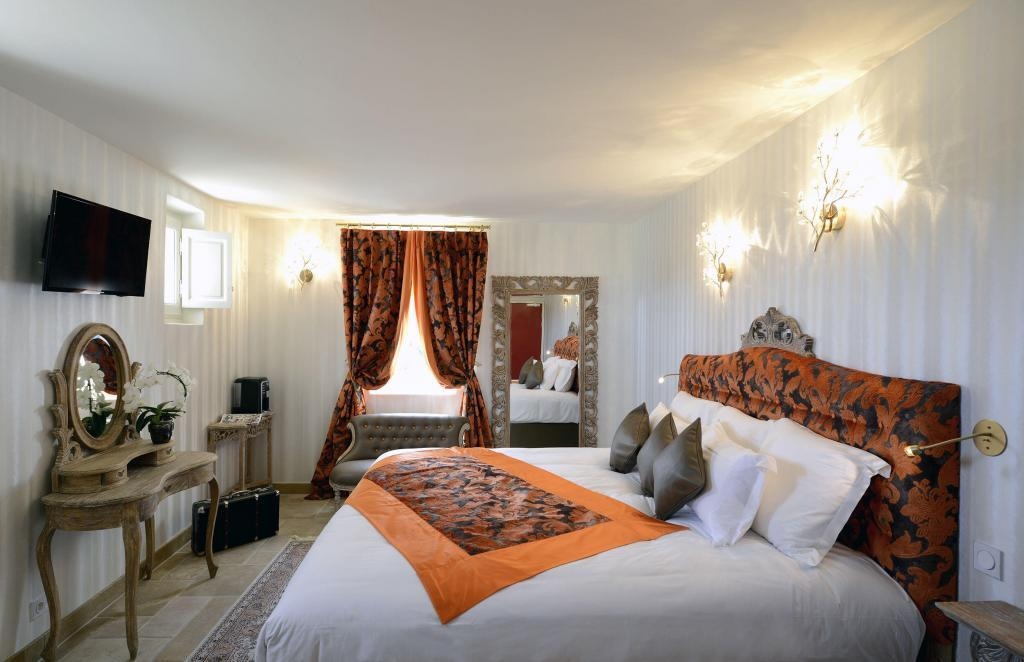 Rooms #Gordes Hotel Petit Palais d'Aglae @petitpalaisdaglae