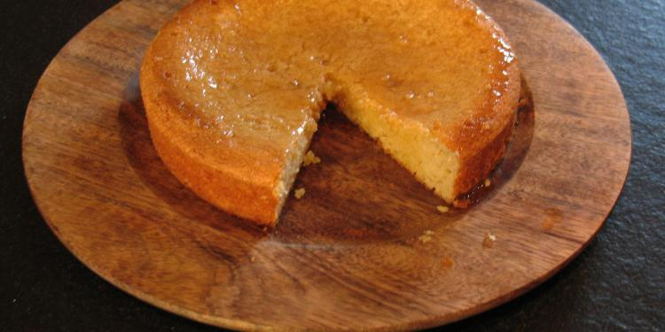 Lemon Almond Yoghurt Cake Breakfast or Tea Cake #Recipe @MasdAugustine